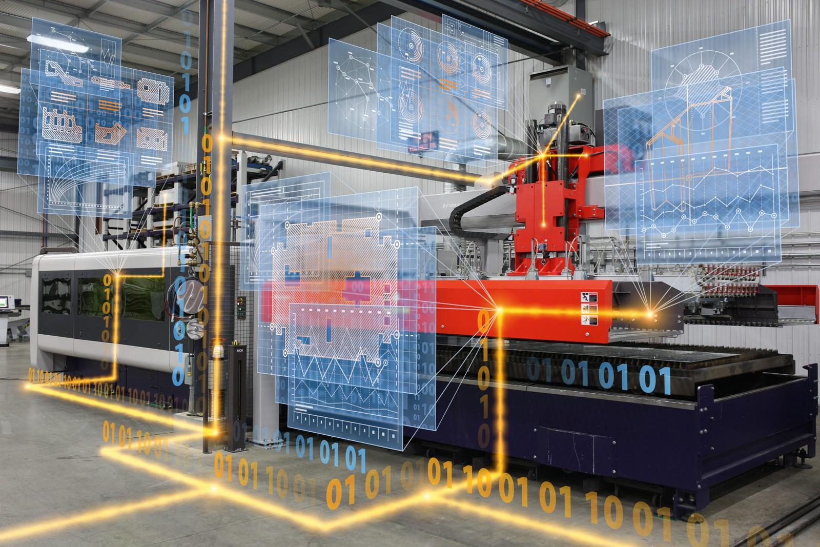 Das Bystronic MES hilft Anwendern, Prozessschritte, eingebundene Maschinensysteme und Arbeitsplätze aufeinander abzustimmen.