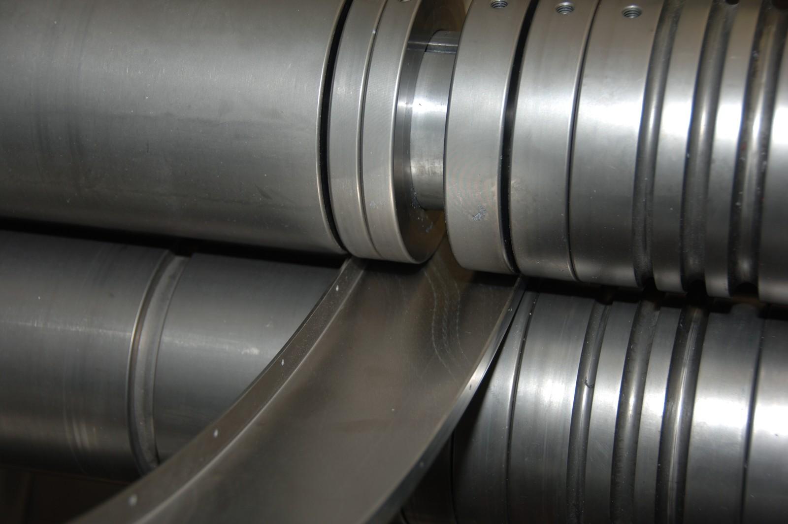 Die Ringe sind so konfiguriert, dass sie passend für jede Führungsbahn zusammengestellt werden können.