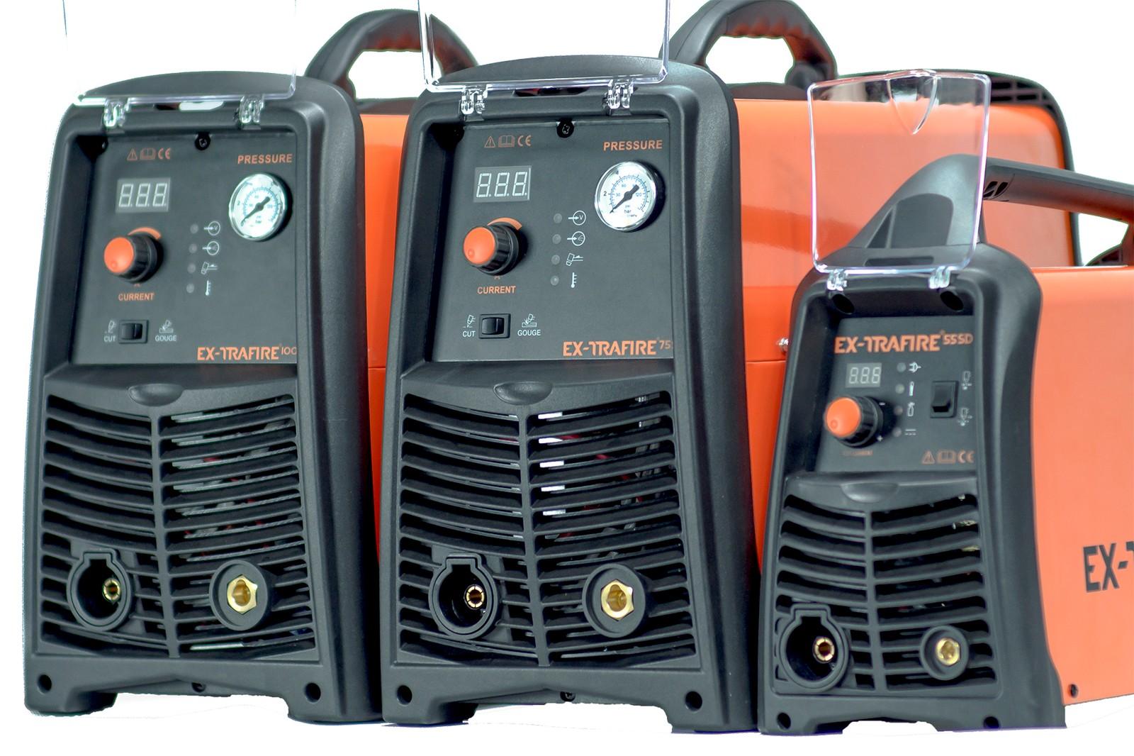 Die Plasmaschneidgeräte der Ex-Trafire-HD-Serie sind abgestimmt auf Anwendungen im industriellen Bereich