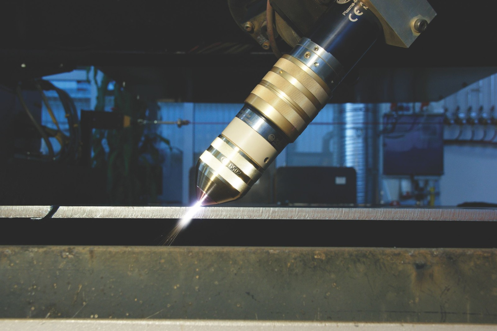 Fasenschneiden in höchster Qualität mit Plasmaschneidtechnik von Kjellberg Finsterwalde.