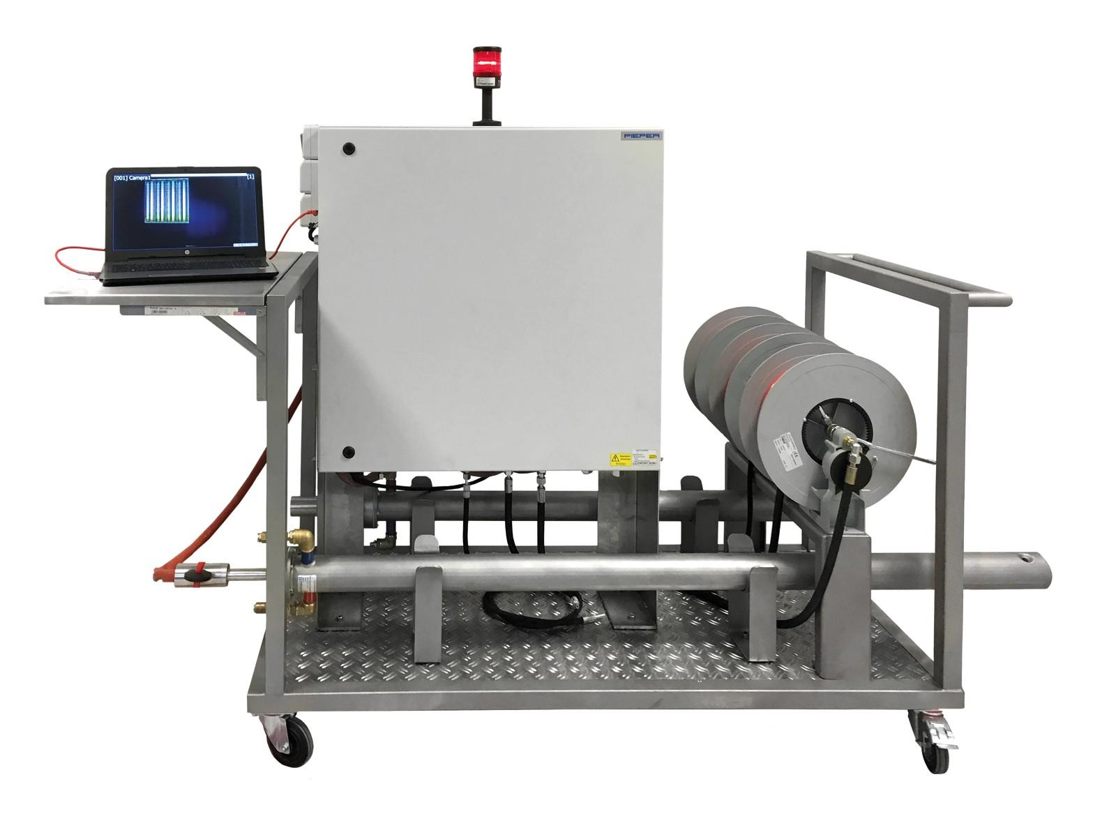MIS-N-HT heißt die neue, flexible und transportable Inspektionslösung mit zwei Feuerraumsonden von Moog Pieper. Sie eignet sich beispielsweise zur Inspektion von Öfen, die zur Glasherstellung verwendet werden.