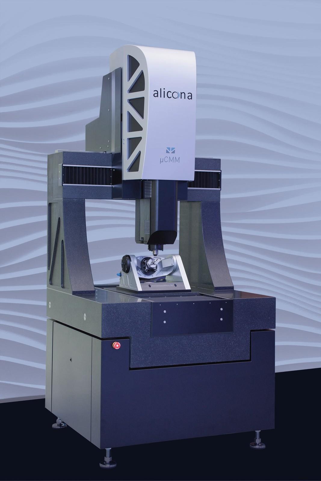 Das optische 3D-Fokus-Variationsmessgerät µCMM von Alicona.