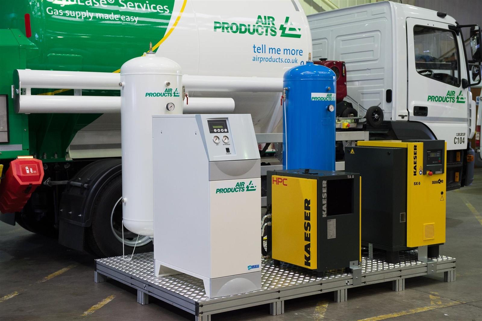 Air Products erweitert sein Angebot an Prism-Lösungen für die Vor-Ort-Erzeugung von Stickstoff.