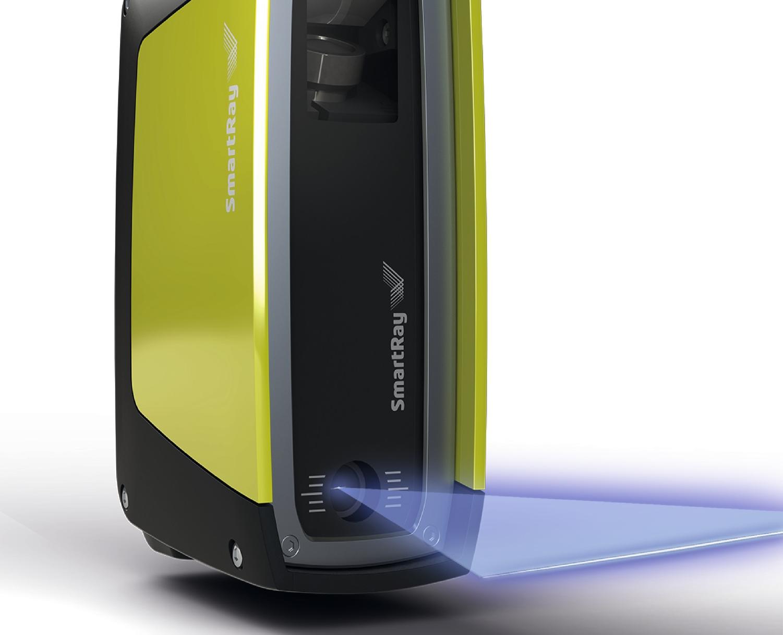 Der neue Ecco 95.040 von Smartray bietet eine Sichtfeldbreite von 36 mm und erreicht mit 1.920 Bildpunkten pro aufgenommenem Profil eine laterale Auflösung von 20 µm – was laut Hersteller in dieser Kombination im Markt einzigartig ist.