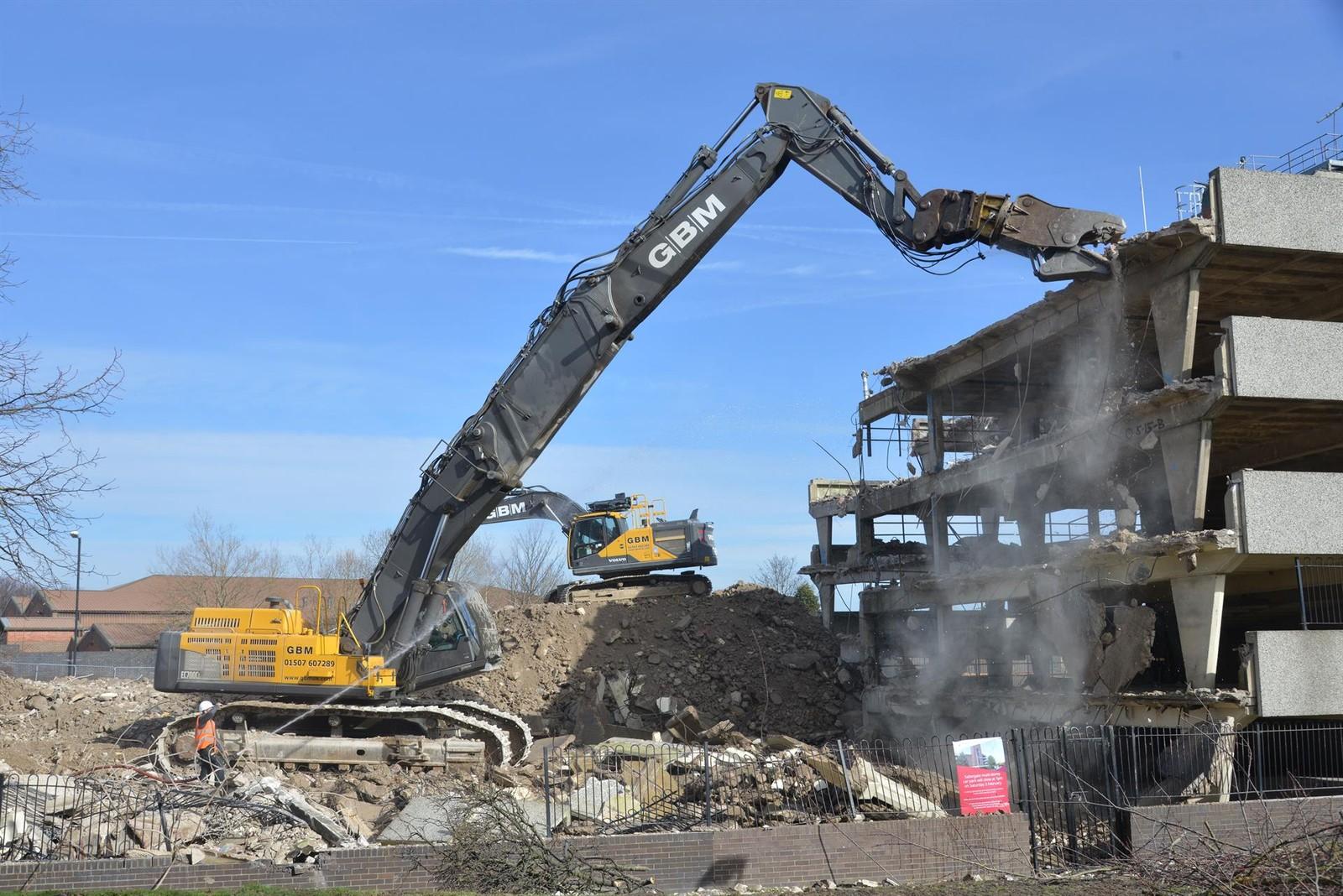 Kocurek Excavators setzt für seine Abrissgeräte die Stahlsorte Strenx 700 von SSAB ein.