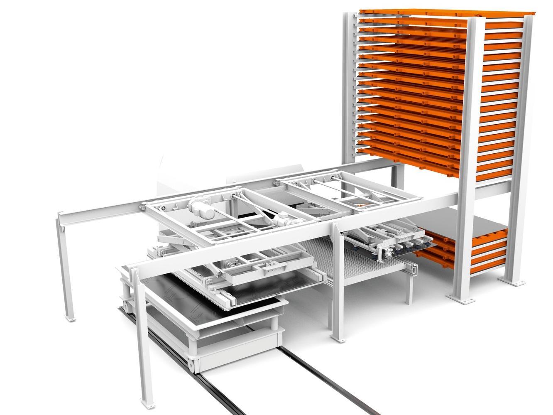 Für die optimale Anbindung automatischer Blechlagersysteme an Stanz- und Laserschneidmaschinen hat Kasto maßgeschneiderte Manipulatoren im Portfolio.