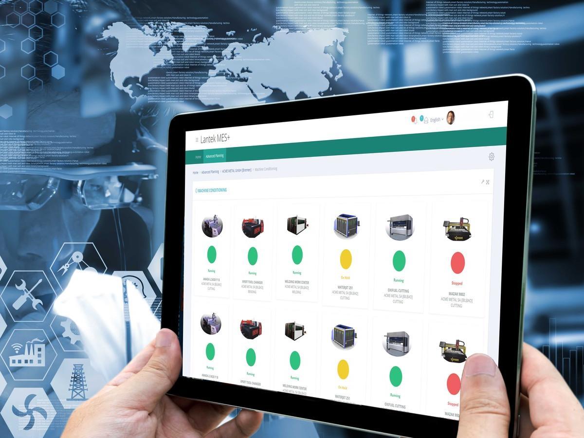 Cloud-Anwendungen von Lantek vergrößern die Möglichkeiten der Digitalisierung, zu sehen auf der Blechexpo 2019.