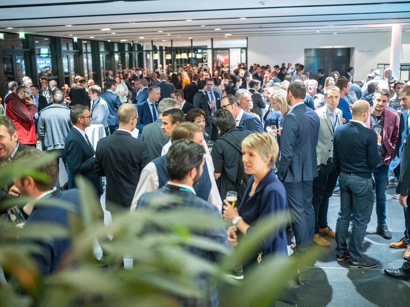 Informieren und Netzwerken: Meusburger freute sich über zahlreiche Besucher bei den Werkzeug- und Formenbautagen 2019.
