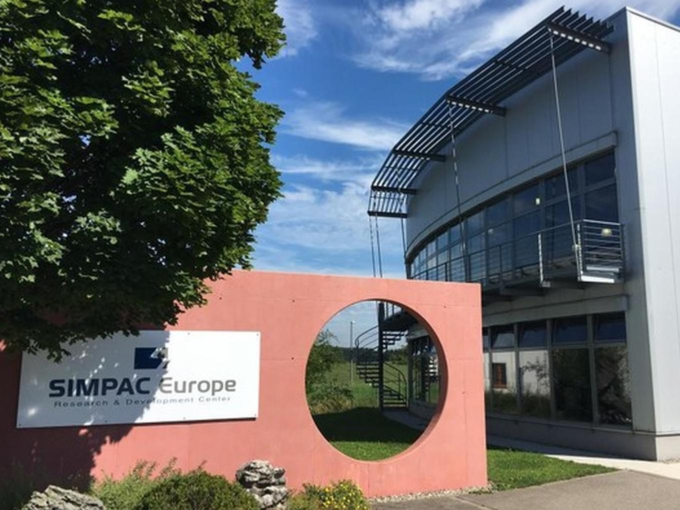 Firmensitz der Simpac Europe GmbH in Bodnegg am Bodensee.