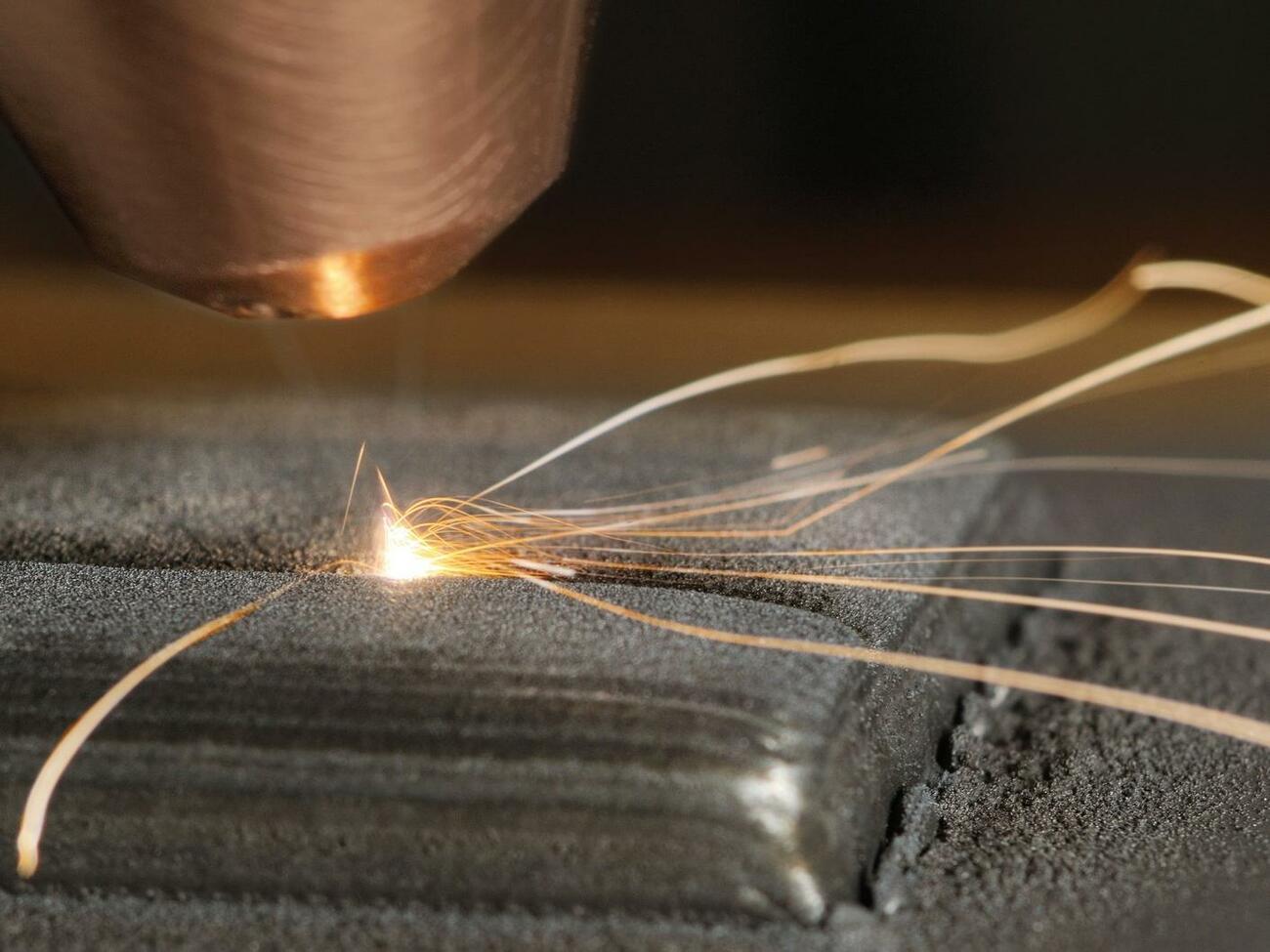 3D-Druckverfahren für metallische Verbundwerkstoffe