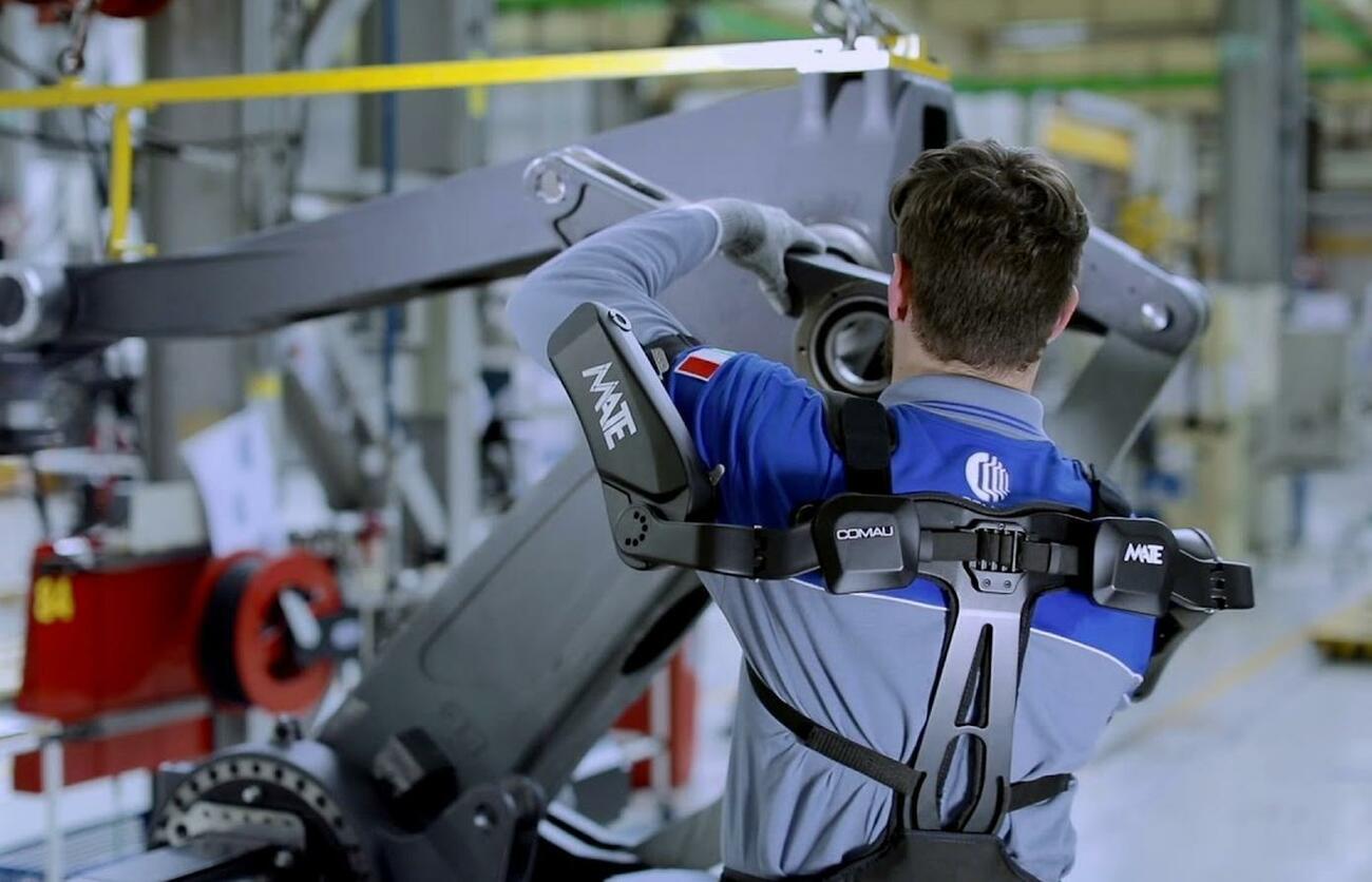Ergonomie: das erste Exoskelett mit EAWS-Zertifizierung