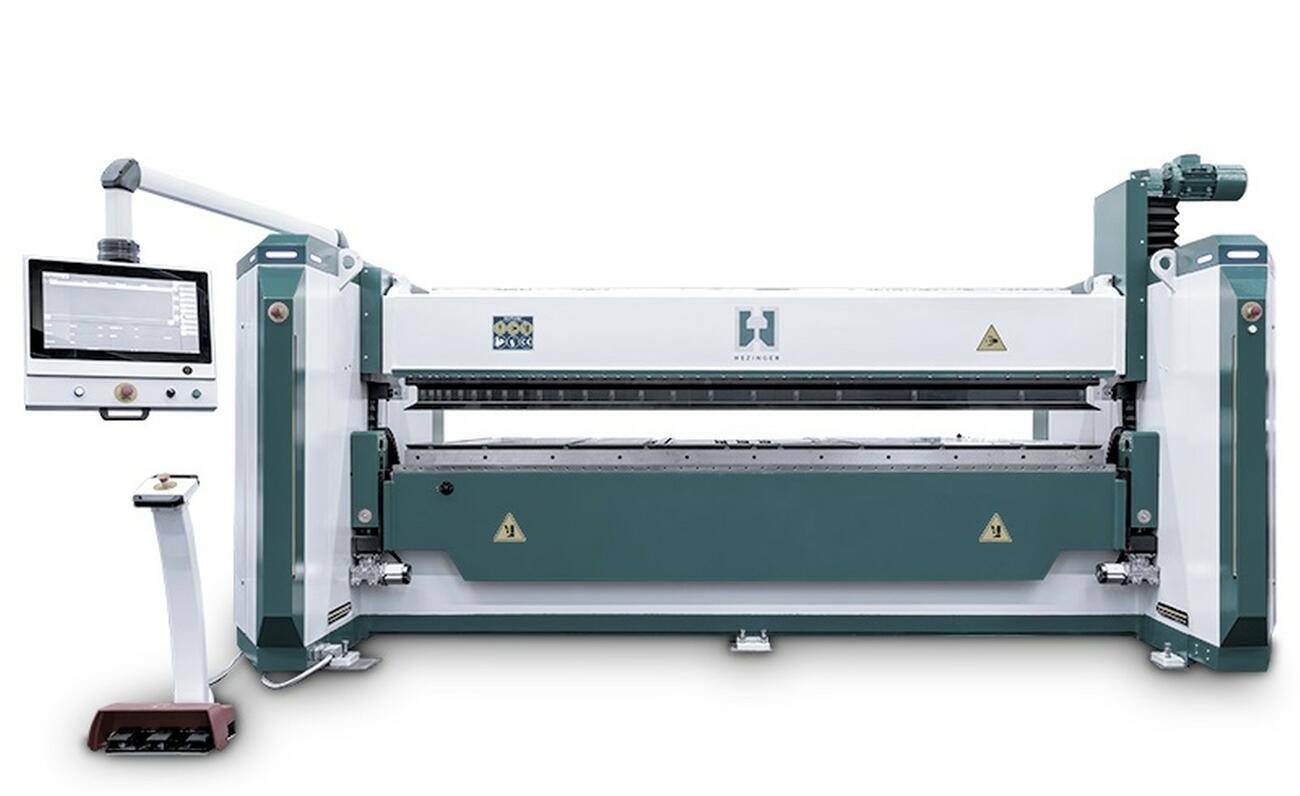 Folding Line: Neue Schwenkbiegemaschinen von Hezinger