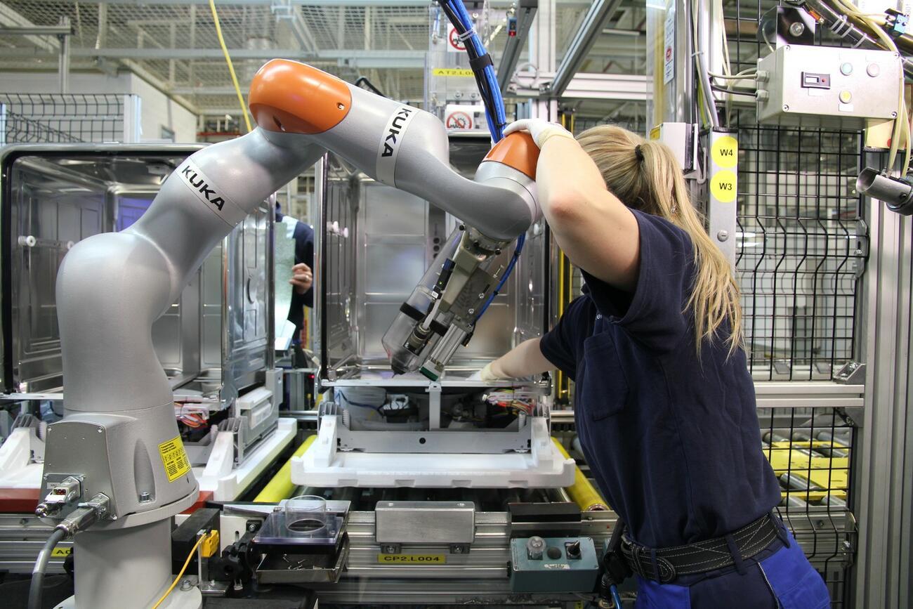 Industrie-Roboter: Deutschland in Europa auf Platz 1