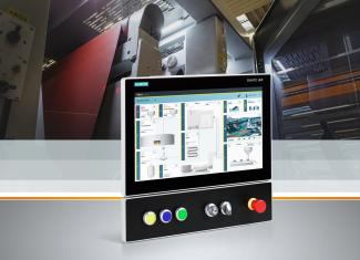 Das Simatic HMI TP1200 Comfort Panel Pro (Protected) mit 12 Zoll Displaydiagonale und der Industrie Panel-PC Simatic IPC477E Pro mit 15-, 19- und 22-Zoll-Display zeichnen sich aus durch hohe Performance und Funktionalität.