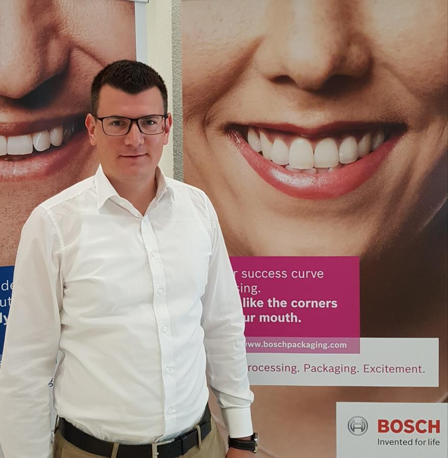 Dominik Bach, Material Field Management Robert Bosch Packaging Technology GmbH.